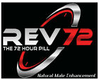 REV72 - 72 Hr Natural Male Enhancement! Best ED Pill Available! Single Packs!