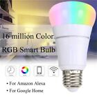 Lampadina LED Inteligente WiFi 7W B22/E27 RGB per Amazon Alexa Remote Controllo
