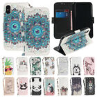 Cute Strap Leather Wallet Card Pocket Stand Cover Case for iPhone 7 8 Plus X 6S