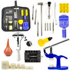 Watch Repair Tool Kit Case Opener Link Remover Spring Bar Screwdriver with Case