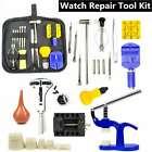 Watch Repair Tool Kit Case Opener Link Remover Spring Bar Screwdriver with Case image