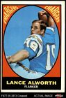 1967 Topps #123 Lance Alworth Chargers VG $17.5 USD on eBay