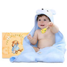 Baby Hooded Towel, Extra Soft Water Absorbent Towel Natural Cotton Bath Towels