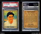 1941 Play Ball #63 Dom DiMaggio Red Sox PSA 7 - NMBaseball Cards - 213