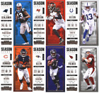 2017 Panini Contenders - Season Ticket Base Cards - Choose From Card #'s 1-100 $0.99 USD on eBay