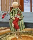 Primitive Country Christmas Angel Choose From 3 Themes Rustic Holiday Home Decor