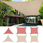 Sun Sail Shade Patio Pool Garden Canopy UV Block Top Cover Rectangle Triangle
