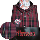 Warrior UK England Button Down Shirt CLIFF Hemd Slim-Fit Skinhead Mod