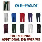 Внешний вид - Gildan Mens Pants Heavy Blend Open Bottom Sweatpants S - 5XL 18400 NEW