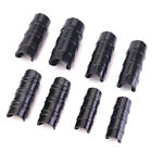 10 Pcs ABS Snap Clamp for PVC Pipe for Shelters Dog Beds Row Covers Banner Frame