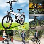 Outdoor E-Bike Folding Electric Bicycle w/ Light for Sport Hiking Travel Office