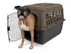 Dog Crate Carrier Kennel Camouflage Pet Plastic Steel Vet Travel Small to Large