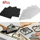 Внешний вид - 4Pcs Glass Fiber Reusable Gas Foil Stove Protector Burner Cover Liner Clean Mat