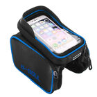 6.2inch Cycling Bicycle Bike Top Frame Front Pannier Saddle Tube Bag For iPhone