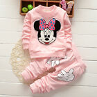 Kinder Kleidung Baby Mädchen 2Tlg Outfits Set Minnie Mouse Top Sweatshirt + Hose