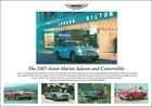 Aston Martin DB5 1960's Vintage Showroom Advertising Picture Print Poster A1 A3+