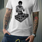 KUNG FU DJ T-SHIRT mma ufc tapout turntable record club dragon japanese chinese