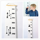 Wooden Kids Growth Height Chart Ruler Children Room Decor Wall Hanging Measure 1