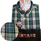Warrior UK England Button Down Shirt TOOTS Slim-Fit Skinhead Mod Retro
