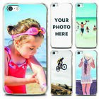 PERSONALIZED CUSTOM PHOTO PHONE IMAGE CASE FOR APPLE IPHONE CLEAR HARD COVER