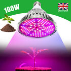 100W LED Grow Light Bulbs E27 Hydroponic Full Spectrum Indoor Veg Flower Plants