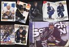 VANCOUVER CANUCKS JERSEY AUTOGRAPH NHL HOCKEY CARD SEE LIST $5.0 CAD on eBay