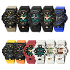 Men Digital Fashion Wrist Watches LED Military Outdoor Sports Waterproof Watch image