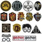 Harry Potter Gryffindor Slytherin Hufflepuff Ravenclaw Iron On Patch Badge