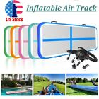 FBSport GYM 20ft Inflatable Air Track Floor Home Gymnastics Tumbling Mat + Pump image
