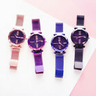 Luxury Women Starry Sky Watch Quartz Stainless Buckle Crystal Analog Wrist Watch image