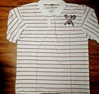KAPPA ALPHA PSI FRATERNITY POLO SHIRT RED NUPE PHI NU PI PIN STRIPE POLO SHIRT