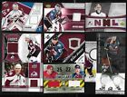 COLORADO AVALANCHE AUTOGRAPH JERSEY NHL HOCKEY CARD SEE LIST $3.0 CAD on eBay