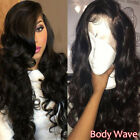 Glueless 360 Lace Frontal Unprocessed Brazilian Virgin Human Hair Wig Loose Wave