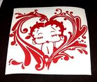 betty boop kiss -heart cuty sticker vinyl decal for car and others FINISH GLOSSY $4.94 CAD on eBay
