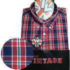 Warrior UK England Button Down Shirt RUDY Hemd Slim-Fit Skinhead Mod