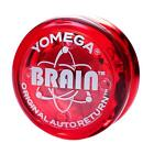 Yomega Brain Yo Yo Blue Red or Clear with Auto Return Clutch Brand New Version