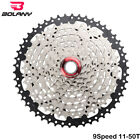 BOLANY 9 Speed 11-50T 46T 42T 40T 32T MTB Cassette Mountain Bicycle Freewheels