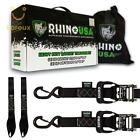 Rhino Usa Ratchet Straps Motorcycle Tie Down Kit,  5, 208 Break Strength - Include