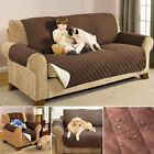 Reversible Sofa Protector Throw Slip Cover Dog Cat Pet Waterproof 1-3 Seater US