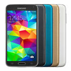 Samsung Galaxy S5 16GB Unlocked Smartphone Black Gold Blue Pearl...