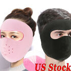 US FAST Thermal Fleece Warmer Cycling Motorcycle Ski Breathable Full Face Mask
