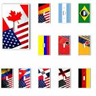 Single Light Switch Plate Cover Country Flags Pride