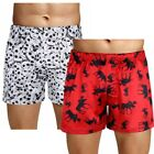 Men's Underwear Boxer Briefs Shorts Nightwear Lounge Pants Christmas Halloween