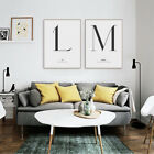 Minimalist Letter Quotes Poster Print Nordic Home Decor Wall Art Canvas Painting