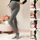 Winter Thick Heavy Warm MATERNITY Cotton Front Panel Full Ankle Length Leggings