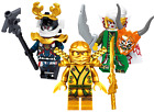 LEGO NINJAGO MINIFIGURES SETS ZANE COLE NYA KAI JAY GOLDEN DRAGON LLOYD MINIFIGS <br/> Spinjitzu Masters Dimensions Kid Building Blocks Figure