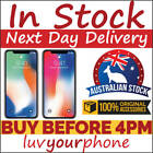 Apple iPhone X A1865 64GB 256GB 4G LTE Unlocked AU Model New & As New Condition
