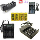 2800mAh Rechargeable 16340 Battery CR123A 3.7V Li-ion Batteries Smart Charger