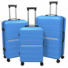3-Piece Hardside Luggage Set with Spinner Wheels Lightweight 20