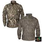 NEW BANDED GEAR TEC FLEECE QUARTER 1/4 ZIP CAMO PULLOVER B1010021